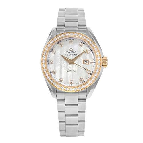 Omega Watch Seamaster Aqua Terra Co-axial Automatic Diamond 231.25.34.20.55.003