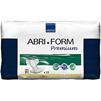 Abena Abri-Form Premium Incontinence Briefs, Small, S4, 22 Count
