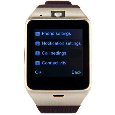 Amazon.com: GV18 Aplus Smart Watch Phone BROWN: Electronics