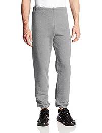 Men's Dri-Power Closed Bottom Sweatpants (No Pockets)