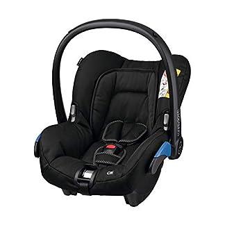 Maxi-Cosi Citi Babyschale, federleichter Baby-Autositz Gruppe 0+ (0-13 kg), nutzbar ab der Geburt bis ca. 12 Monate, Black Raven (schwarz) 10