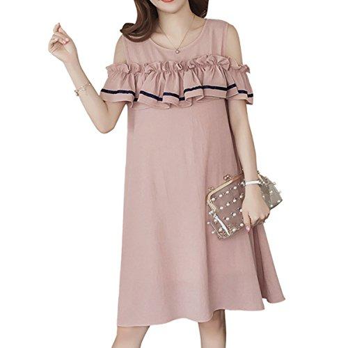 ピンチ地図旅客マタニティ ワンピース レディース 授乳口付き 授乳服 マキシワンピ 妊娠服 ゆとりがある かわいい ファッション 優雅である 気質