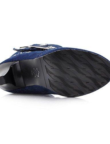 Bottes Western bottes De Cn42 noir Décontracté Soirée Uk7 5 Eu41 À Xzz 5 us9 10 Royal Evénement Homme 8 Cowboy talon Aiguille Bleu Blue extérieure amp; Mode La 6qpZP
