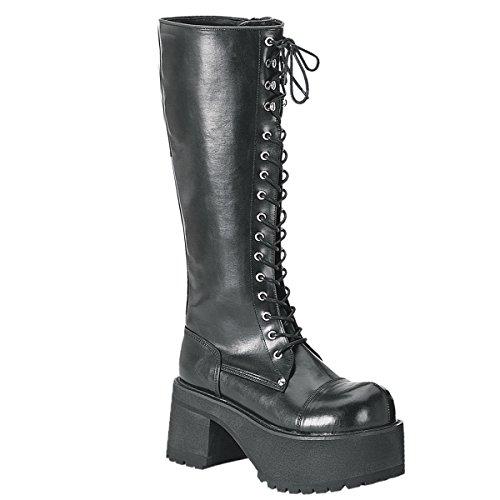 Pleaser Men's Ranger 302 Lace-Up Boot,Black PU,11 M -
