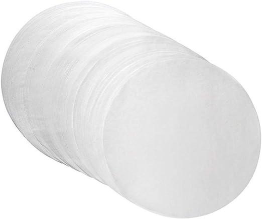 100 Pcs Round Parchment Paper 8 Inch Non Stick Baking Parchment Circles