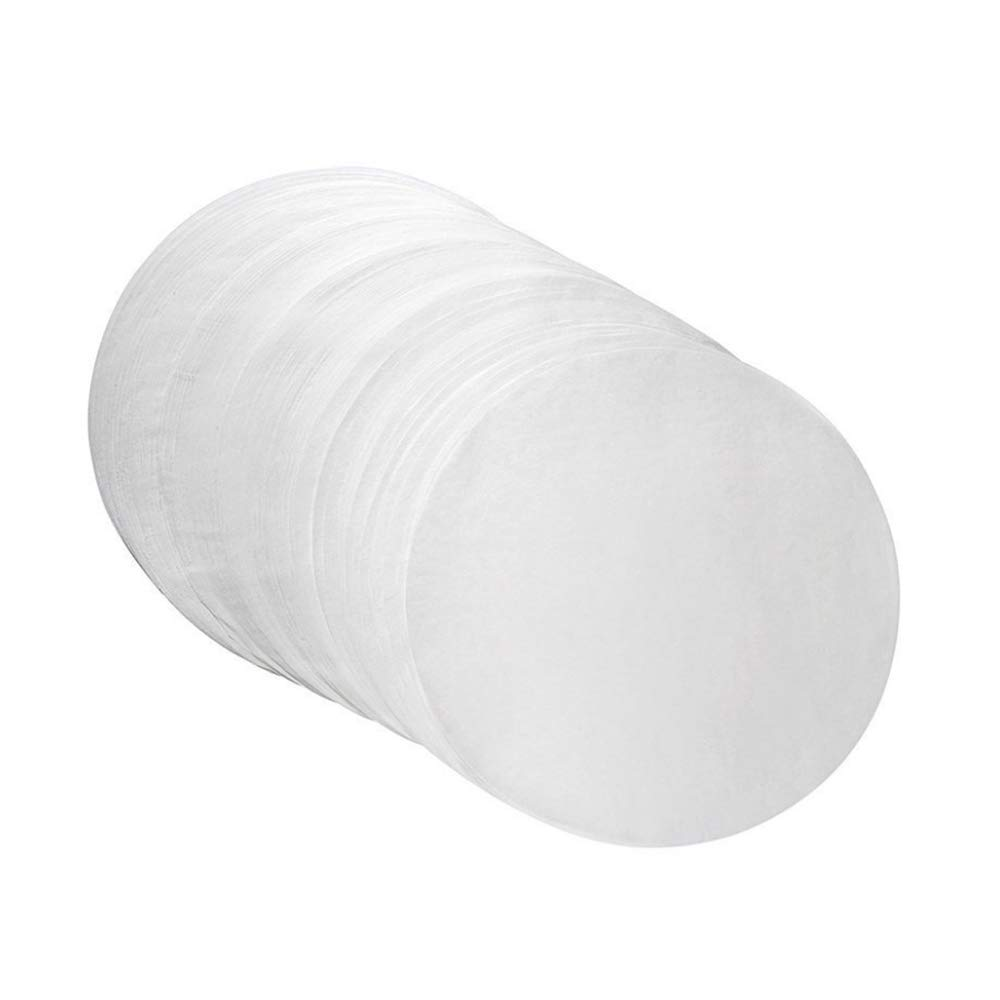 MOTZU Parchment Paper Baking Circles - 10 inch - 80 Pre-Cut Non-Stick Round Parchment Sheets for Baking Cakes, Cooking, Cookies, Cookies, Pastries, Dutch Oven, Air Fryer, Cheesecakes, Tortilla Press