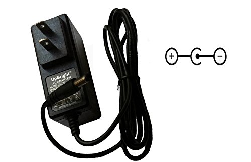 UpBright 9V AC/DC Adapter For Casio LK-30 LK-44 LK30 LK44 Keyboard RADIO SHACK 420-4023 Optimus Concertmate 950 990 42-4040 424040 Moen GEC9 UL-VB Roland RM-3 RM-5 Behringer SO400 9VDC Power Supply