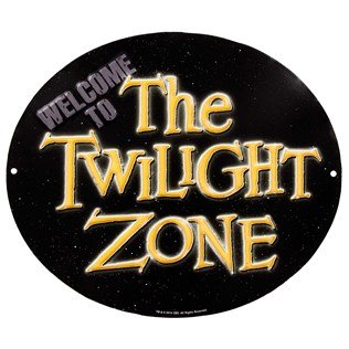 The Twilight Zone Embossed Tin Sign