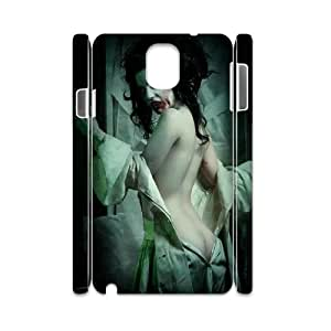 3D Jumphigh Zombie Vampire Samsung Galaxy Note 3 Cases Gothic Sexy Zombie Vampire For Women, Case For Samsung Galaxy Note3 For Women [White]