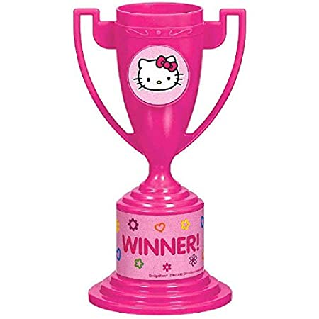 Hello Kitty Trophy Cups Hello Kitty Collection Party Accessory