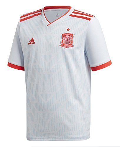 Adidas Spain World Cup - adidas Spain Away Youth Soccer Jersey World Cup Russia 2018 (YM)