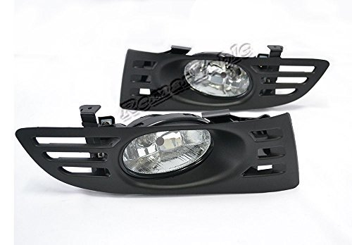 Remarkable Power FL7053 - 2003-05 Honda Accord 2DR Clear Fog Light (Honda Accord 2dr Bumper)