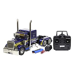 1/14 electric RC Big Truck Series No.43 trailer head Grand Howrah full operation set (4-channel R, battery, with charger) 56343
