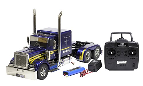 1/14 electric RC Big Truck Series No.43 trailer head Grand Howrah full operation set (4-channel R, battery, with charger) (Bonita King Metal)