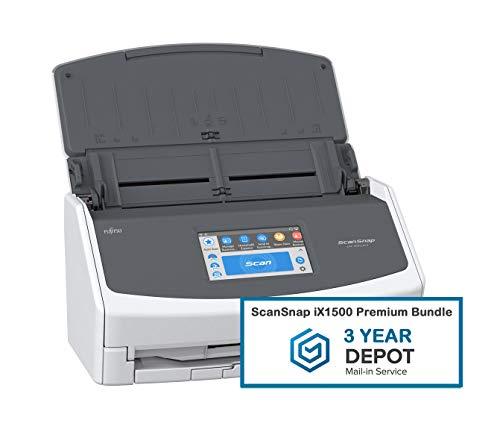 ScanSnap iX1500 Premium Bundle with 3 Year Depot Warranty