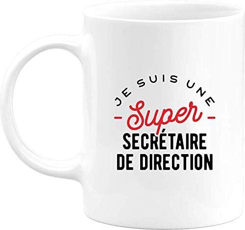 Otshirt Mug une super secrétai…