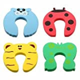 Pakhuis 4pcs Toddler Baby Safety Helper Doorstops Guard Lock Stopper