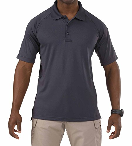 5.11 Performance Polo Short Sleeve Shirt,Charcoal,2X-Large - Collar Polo T-shirt