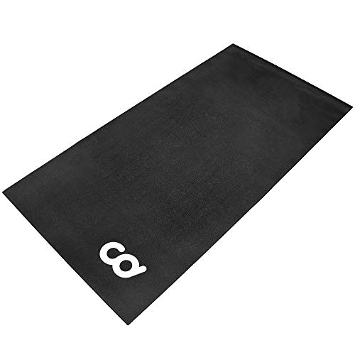 Cycleops Training Mat - CyclingDeal Bike Bicycle Trainer Floor Mat Suits Ergo Mag Fluid Anti-Vibration Exercise Spin(30-inch x 60-inch) (76.2 cm x 152.4 cm)