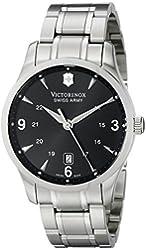 Victorinox Men's 241473 Alliance Analog Display Swiss Quartz Silver Watch