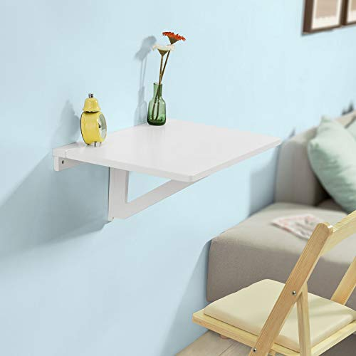 Convenient wall mount table or desk