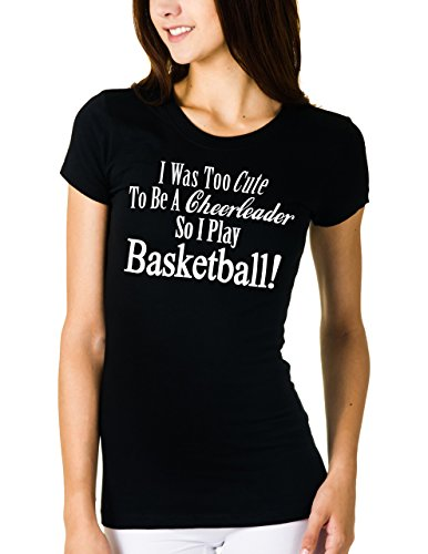 Basketball Too Cute To Cheer T-shirt (Large)