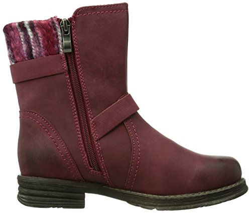 Marco Tozzi Cool Club 46403 Mädchen Biker Boots Rot (Red Antic / 505)
