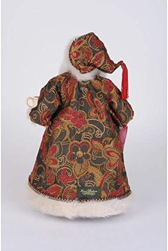 Karen Didion Originals Crakewood Coffee Santa Claus Figurine