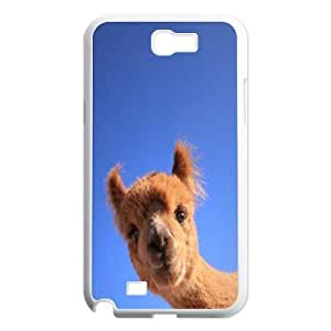 Adorable alpaca Unique Design Case for Samsung Galaxy Note 2 N7100, New Fashion Adorable alpaca Case