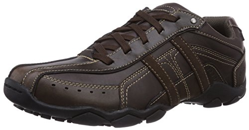 (Skechers Diameter Murilo Mens Oxfords Brown 10)
