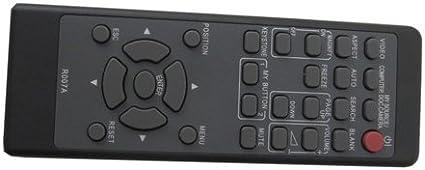 TeKswamp Video Projector Remote Control Black for Hitachi CP-X5550