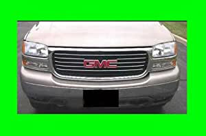 2000-2006 GMC YUKON CHROME GRILLE GRILL KIT 2001 2002 2003 2004 2005 00 01 02 03 04 05 06 DENALI XL SLE SLT