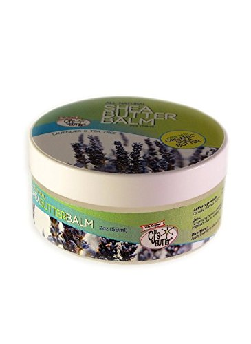 The Original CJ's BUTTer® All Natural Shea Butter Balm - Lavender & Tea Tree, 2 oz. Jar