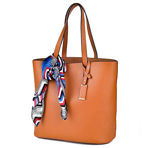 (Large Handbags Tote Bags Shoulder For Women Laptop Books Shopping Soft Neat)