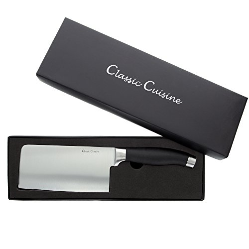- Classic Cuisine 82-2501010 Chopper Cleaver, Normal, Stainless Steel