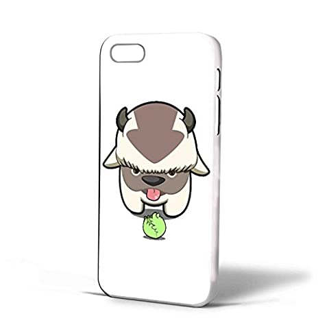 Avatar the Last Air Bender - Appa and Cabbage For iPhone case (iPhone 6s plus White ) (Avatar Phone Case Galaxy S3)