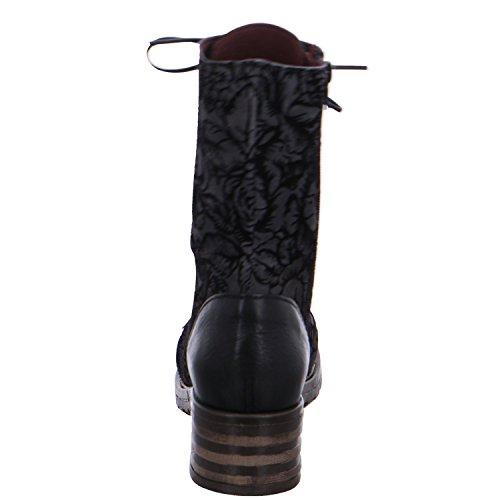Brako Damen Stiefel 8470 6 Military Boots Negro 8470 6