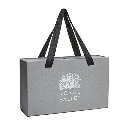 Royal Donna Covent Cocorose Pieghevoli nero Scarpe Garden Ballerine w4EwHzq