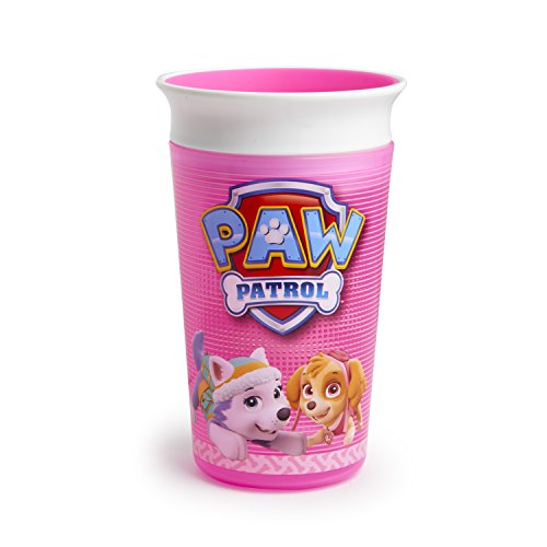 Munchkin PAW Patrol Miracle 360 Sippy Cup, Pink, 9 Ounce