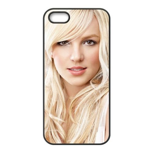 Britney Spears Cute Face coque iPhone 4 4S cellulaire cas coque de téléphone cas téléphone cellulaire noir couvercle EEEXLKNBC23837