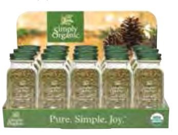 Frontier Natural 19037 Turkey Rub Holiday Countertop Display by Frontier