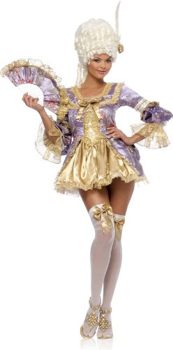 Marie Antoinette Sexy Adult Halloween Costume Size 12-14 (Sexy Marie Costumes)