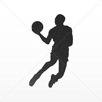 Adhesivos de vinilo jugador de baloncesto Jump Dunk Tablet ...