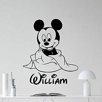 Yangll 47X42cm Lindo De Dibujos Animados De Mickey Mouse Tatuajes ...