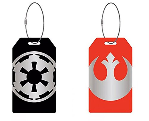 Star Wars Aluminum Luggage Tags