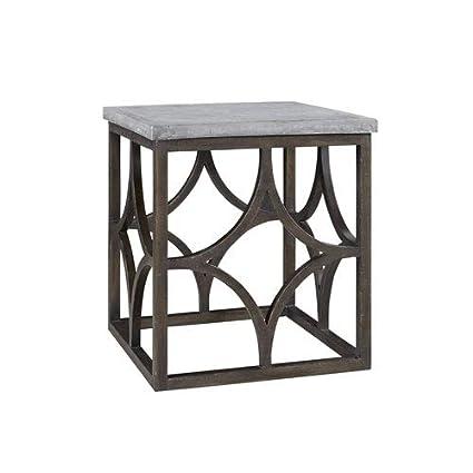 Amazon.com: Universal Furniture Postscript Foulard End Table ...