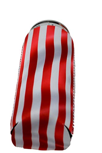 QualityPerfection 6 Slim American US Flag in The Wind - Neoprene Can Sleeves,Slim Beer Can Coolers,Energy Can Sleeves Great 4 Holidays,Sport/Business Events,Parties,Independence Day,BBQ,4th Of July by QualityPerfection (Image #9)