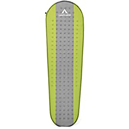 Camping Sleeping Pad – Self Inflating Mats – Lightweight, Thick Foam Layer, Insulated – Inflatable Pads Will Not Leak Air – Backpacking, Hiking