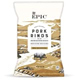 EPIC PORK RINDS AND CRACKLING Texas BBQ Rindsr rings 2.5 OZ pack of 2