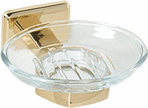 C.R. LAURENCE P1N850BR CRL Brass Pinnacle Series Soap - Series Brass Pinnacle